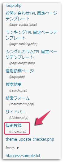 WordPressブログの更新日時を表示させる