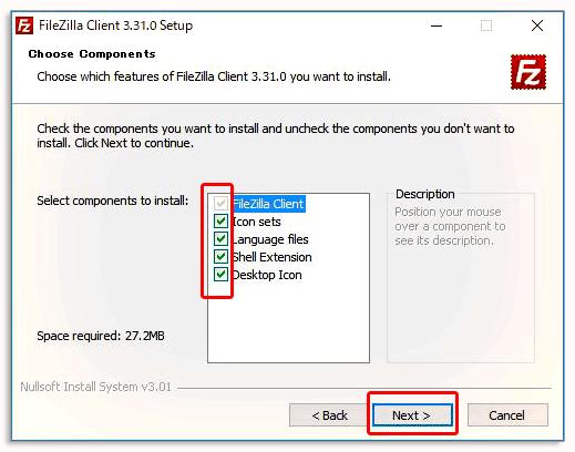 FTPソフトFileZilla(ファイルジラ)