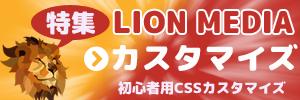 LION MEDIAのカスタマイズ